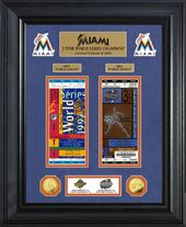 Baseball - Miami Marlins World Series Deluxe Gold