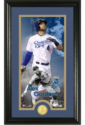 Baseball - Alex Gordon Supreme Bronze Coin Photo