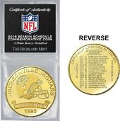 Football - Jacksonville Jaguars Solid Bronze 2016