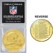 Football - New Orleans Saints Solid Bronze 2016