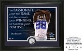 "Football - Dez Bryant ""Quote"" Silver Coin Photo"