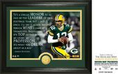 "Football - Aaron Rodgers ""Quote"" Bronze Coin"