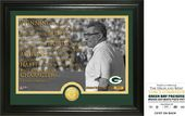 "Football - Vince Lombardi ""Quote"" Bronze Coin"