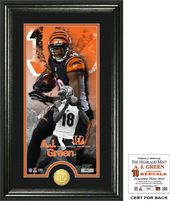 "Football - AJ Green ""Supreme"" Bronze Coin"