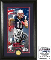 "Football - Julian Edelman ""Supreme"" Bronze Coin"