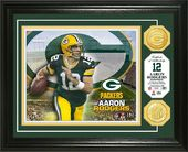 Football - Aaron Rodgers Bronze Coin Photo Mint