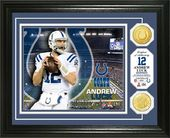 Football - Andrew Luck Bronze Coin Photo Mint