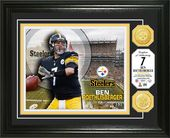 Football - Ben Roethlisberger Bronze Coin Photo