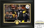 "Football - Ben Roethlisberger ""Quote"" Bronze Coin"