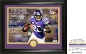 "Football - Adrian Peterson ""Quote"" Bronze Coin"