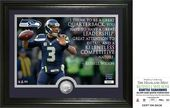 "Football - Russell Wilson ""Quote"" Silver Coin"