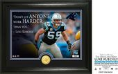 "Football - Luke Keuchly ""Quote"" Bronze Coin Photo"