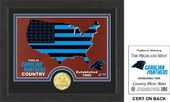 "Football - Carolina Panthers ""Country"" Bronze"