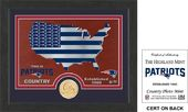 "Football - New England Patriots ""Country"" Bronze"