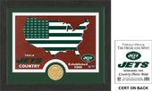 "Football - New York Jets ""Country"" Bronze Coin"
