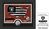"Football - Oakland Raiders ""Country"" Minted Coin"