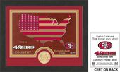"Football - San Francisco 49ers ""Country"" Bronze"