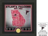 "Football - Atlanta Falcons ""State"" Bronze Coin"