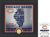 "Football - Chicago Bears ""State"" Bronze Coin"