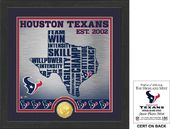 "Football - Houston Texans ""State"" Bronze Coin"