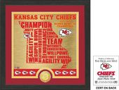 "Football - Kansas City Chiefs ""State"" Bronze Coin"