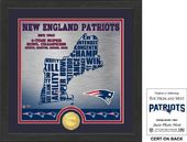 "Football - New England Patriots ""State"" Bronze"
