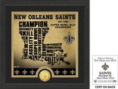 "Football - New Orleans Saints ""State"" Bronze Coin"