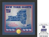 "Football - New York Giants ""State"" Bronze Coin"