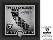 "Football - Oakland Raiders ""State"" Minted Coin"