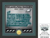 "Football - Philadelphia Eagles ""State"" Bronze"