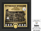 "Football - Pittsburgh Steelers ""State"" Bronze"