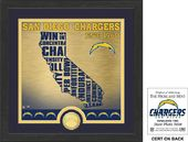 "Football - San Diego Chargers ""State"" Bronze Coin"