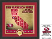 "Football - San Francisco 49ers ""State"" Bronze"
