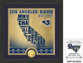 "Football - Los Angeles Rams ""State"" Bronze Coin"