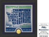 "Football - Seattle Seahawks ""State"" Bronze Coin"