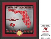 "Football - Tampa Bay Buccaneers ""State"" Bronze"