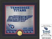 "Football - Tennessee Titans ""State"" Bronze Coin"