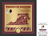 "Football - Washington Redskins ""State"" Bronze"