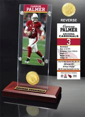 Football - Carson Palmer Ticket & Bronze Coin