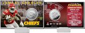 Football - Jamaal Charles Silver Coin Card