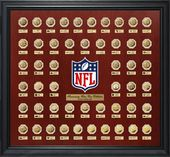 Super Bowl Flip Gold Coin Collection Frame