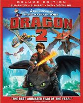 How To Train Your Dragon 2 3D (Blu-ray + DVD)