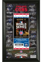 Baseball - Chicago Cubs 2016 Champions Signature
