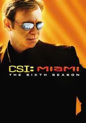 CSI: Miami - Complete 6th Season (6-DVD)