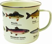 Multi Fish - Enamel Mug