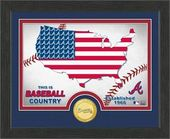 "Baseball - MLB - Atlanta Braves ""Country"" Bronze"
