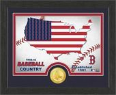 "Baseball - MLB - Boston Red Sox ""Country"" Bronze"