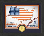"Baseball - MLB - Detroit Tigers ""Country"" Bronze"