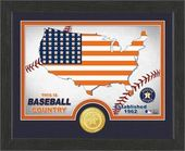 "Baseball - MLB - Houston Astros ""Country"" Bronze"