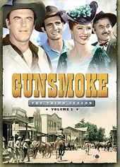 Gunsmoke - Season 3 - Volume 1 (3-DVD)